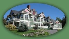 Maine- Greenville Inn at Moosehead Lake-amazing inn located in northern Maine offering historic inn rooms, luxury & family suites, private cottages, fabulous views, scrumptious breakfasts...just one block from lake & town.  Seasonal packages: Moose Safari; Leaf-peeping; Romantic Getaway; Stay and Dine; Spa Getaway; Stay More than 4, Get More...so much to do-Sea Plane rides, kayaking, canoeing, sight-seeing, golfing, fishing, snowmobiling, ice fishing, dog-sledding, snow-shoeing...& RELAXING!
