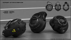 Frag grenade concept by peterku.deviantart.com on @DeviantArt