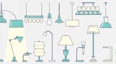 Pour avoir les idées claires, choisissez bien votre éclairage   Le Blog Offiscénie Floor Plans, Blog, Desk Lamp, Blogging, Floor Plan Drawing, House Floor Plans