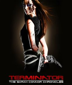 "Terminator Cameron damaged (from TV-show ""TERMINATOR: The Sarah Connor Chronicles"") fanart. This artwork was made by russian's author MikEvil from . Also you can see my version of TERMINATOR EVOLUT..."