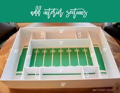 DIY Tutorial Build Your Own Snack Stadium | DIY Snack Stadium | Football Big…