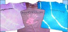 I had a hyper color coat! So cool.
