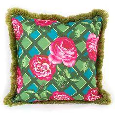 Greenhouse Outdoor Throw Pillow