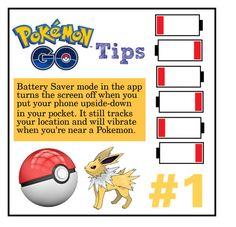 Pokemon Go Tip #1