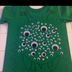 100th day of school shirt Too bad I didn't see this a couple weeks ago...Next year!