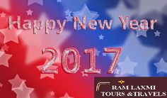 May the essence of this New Year blend sweetness in your life that stays forever and ever. Wishing you a very Happy New Year! #happynewyear2017  - Regards Ram Laxmi Tours & Travels