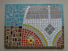 Sunshine - VW Campervan Mosaic £50.00
