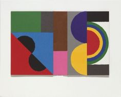 Peter Blake After Sonia Delaunay - 'Book Cover' 4 (in homage to Sonia Delaunay)