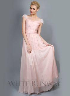 Sweet Pearl Cap Sleeve Dress