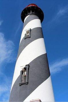 Lighthouse, St Augustine, Florida #philrickphotos #lighthouse # florida Jacksonville Florida, Florida Usa, Florida Travel, Florida Beaches, St Augustine Lighthouse, Crystal Dragon, Lighthouse Photos, Shark Fin, Maritime Museum
