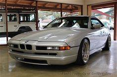 1991-BMW-850i-Manual-Rare-6-speed-manual-CSI-Body-Kit-AC-Schnitzer-wheels