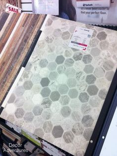 Getting A Hex Tile Look With Vinyl Vinyls Hexagons And