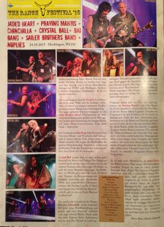 Crystal Ball live review about the Ranch Festival 2015 in Hechingen.  Written by Martin Schneider for Rock-it! Magazine #LifeRider #crystalball #crystalballrocks #metal #hardrock #heavymetal #ballsareback #swissband #swissmetalband #ranchfestival #livereview #rockitmagazine #wom Chinchilla, Metal Bands, Rock Bands, Cover Band, Press Release, The Ranch, Crystal Ball, Hard Rock, Heavy Metal