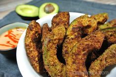 If you're looking for a delicious keto snack, these low carb avocado fries are the perfect solution! They only takes 15 minutes to make. Taste the goodness! Keto Foods, Ketogenic Recipes, Keto Snacks, Low Carb Recipes, Healthy Snacks, Cooking Recipes, Ketogenic Diet, Grilling Recipes, Lunch Recipes