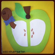 Miss Kindergarten: Apple Graphs and Glyph