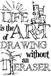 Tim Holtz Rubber Stamp LIFE ART Stampers Anonymous M1-1499