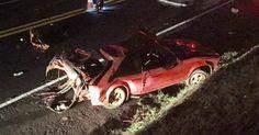Irmãs de 4 e 12 anos morrem após acidente em rodovia de Pirangi, SP https://correroubater.blogspot.com.br/