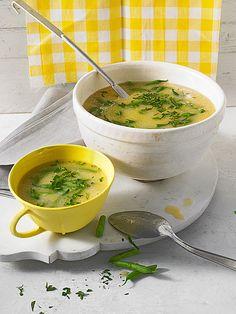 Portugiesische grüne Bohnen-Suppe mit Kartoffeln