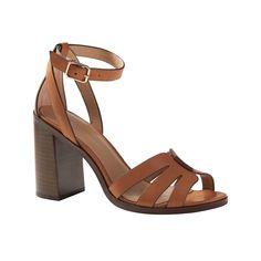 Block heel sandals - Banana Republic