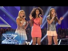 Sweet Suspense's @The X Factor USA 2013 #4ChairChallenge performance