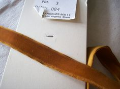 toffee vintage wide velvet ribbon from Switzerland This is listed in other sizes as well. Vintage Velvet, Velvet Ribbon, Band, Toffee, Switzerland, Letters, Dress, Accessories, Etsy