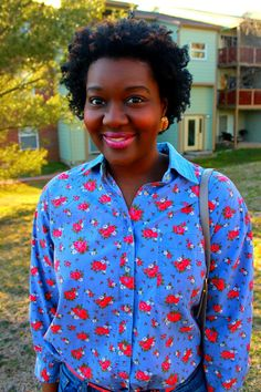 Chioma's Evolution of Style: Stop and Smell The Roses...
