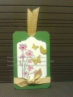 Stampin' Up! Up in the Air Garden Starfruit