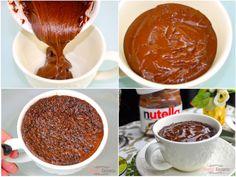 Bolo de Nutella de Caneca, , lembra um brownie, só que mais gostoso, pronto em minutos, porção individual só para mim