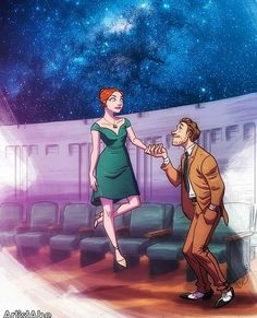 My favorite part of La La Land, the planetarium scene where they started floating and dancing on clouds.
