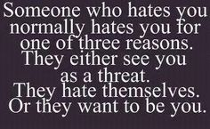 I know a couple who are all three ;) heheh