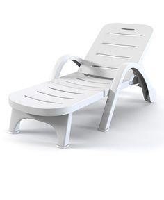 Plastic Beach Lounge Chair