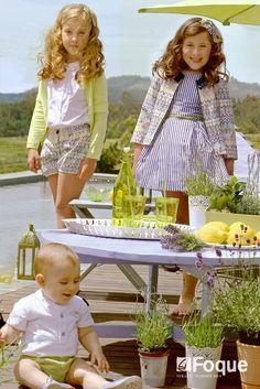 Foque. Colección de verano. Moda infantil en www.fashionbabyplace.es