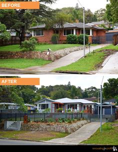 #facade #outdoor #renovation For more exciting renovation ideas visit www.renovatingforprofit.com.au