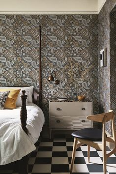 Traditional Style Wallpaper for Contemporary Living