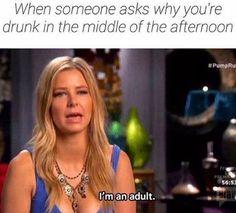 I am an adult