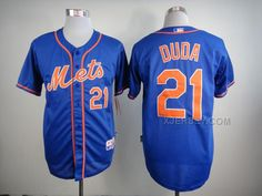 http://www.xjersey.com/mets-21-duda-blue-cool-base-jersey.html METS 21 DUDA BLUE COOL BASE JERSEY Only $35.00 , Free Shipping!