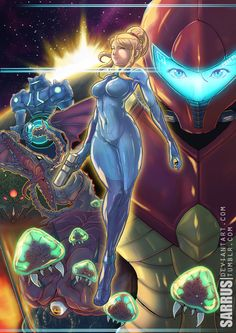 "sarrus: ""ZERO Mission. Loving all the new Metroid attention. Cheers Nintendo. @nintendo """
