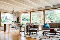 Vanessa's California home is furnished with her husband's Mid-century modern collection and handmade pieces from her company, Studio Matsalla, rounded out by practical pieces from retailers like West Elm and Crate & Barrel—and now you can get the look!
