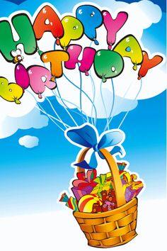 Bday sign Happy Birthday Typography, Happy Birthday Signs, Happy Belated Birthday, Best Birthday Wishes, Happy Birthday Balloons, Happy 1st Birthdays, Happy Birthday Images, Birthday Gifs, Birthday Board