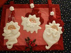 Regalo navidad2015 Mickey Christmas, Christmas Sewing, Christmas Projects, Christmas Crafts, Christmas Decorations, Christmas Ornaments, Christmas Ideas, Christmas Placemats, Xmax