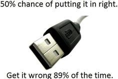 Stupid Usb shared by Super Mega Trolled on We Heart It Coffee Break, Friday Humor, Friday Fun, Lol So True, True Fact, Just For Laughs, Story Of My Life, Laugh Out Loud, The Funny