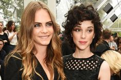 Cara was dating St Vincent for a year and a half