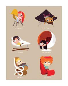 Kids on modern classics; por Christopher Lee