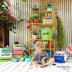 Backyard Idea: The Summer Fun Station - Parents.com