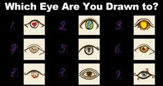 Pick a Eye And see What it Says About You