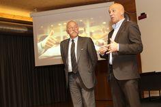 Diego Mosna e Tiziano Mellarini alla Cantina Sociale Le Meridiane di Trento