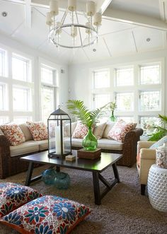 georgianadesign:  Spring Lake beach house style, NJ. Threshold Interiors.