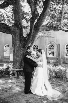 First Look // Downtown Charleston Black Tie Wedding // Dana Cubbage Weddings // Charleston SC + Destination Wedding Photographer