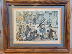 Cartoon Wall, Vintage Art Prints, Political Cartoons, Paper Cover, Hard Times, Antique Shops, Floral Wall, Vintage Children, Comic Strips