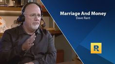 Marriage And Money - Dave Rant